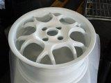 pulverbeschichtet weiß glanz