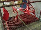 Pulverbeschichtung Rot RAL 3002