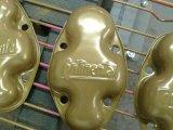 Flugzeugteile pulverbeschichtet gold
