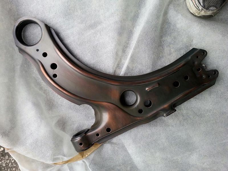 Kupfer-Alt anpoliert