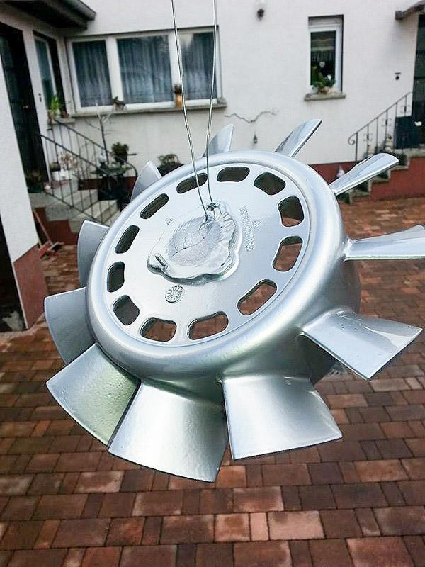 pulverbeschichteter Porschelüfter
